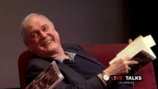 John Cleese & Eric Idle reading the bookshop sketch at Live Talks Los Angeles
