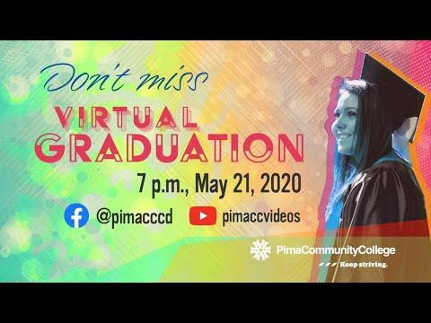 Pima Community College Virtual Graduation 2020