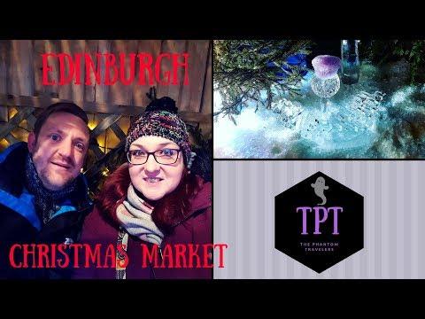 Edinburgh Christmas Markets and Ice Adventure