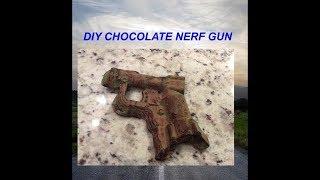 DIY chocolate NERF gun!!!