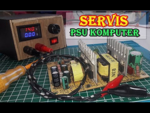 Cara Servis Power Supply Komputer Yang Mati Total.