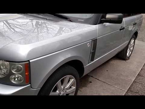 2007 Range Rover L322 DIY oil change tips