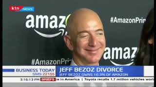 Divorce would see Amazon Boss's wife get a settlement of 68 billion dollars