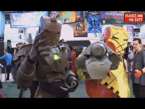 Iron Man 3 Pepakura Cosplay - Predator, X-Men Sabretooth, & Spider-Man Villain Shocker