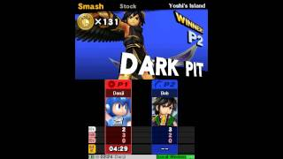 The Weekly Beating #22 - Smash 3DS (final game)