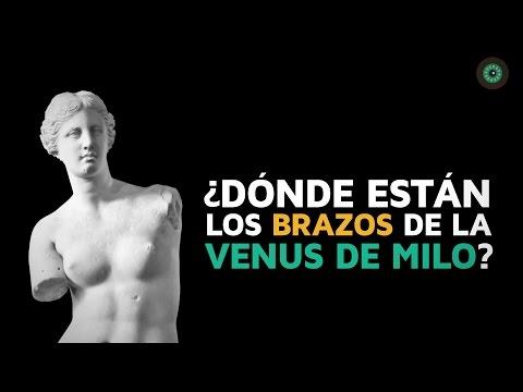 ¿Dónde están los brazos de la Venus de Milo?