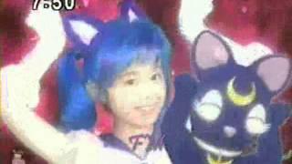 "Pretty Guardian Sailor Moon (Sailor Moon Live Action) - Luna ""Sailor Luna"" Transformación"