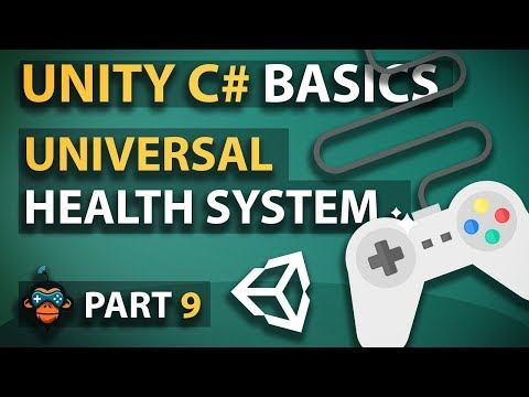 c# Unity3D Tutorial Series #09 - Universal Health System