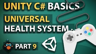 c# Unity3D Tutorial Series #09 - Universal Health System
