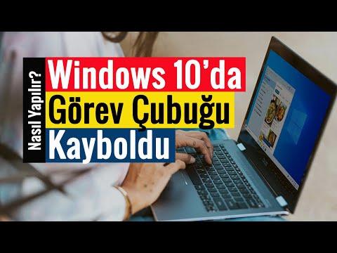 Windows 10 Arama Çubuğu Sorunu Çözümü!