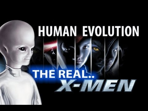 Human Evolution ALIEN hybrid the REAL X-MEN (REAL PROOF)