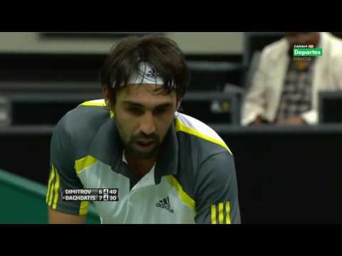 ATP 2013 Rotterdam QF Dimitrov vs Baghdatis 1080p