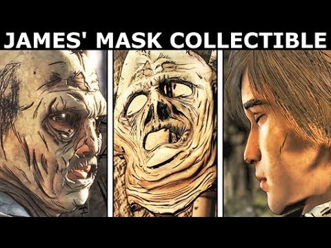 James' Mask Collectible Item - The Walking Dead: The Final Season (Telltale Series) |