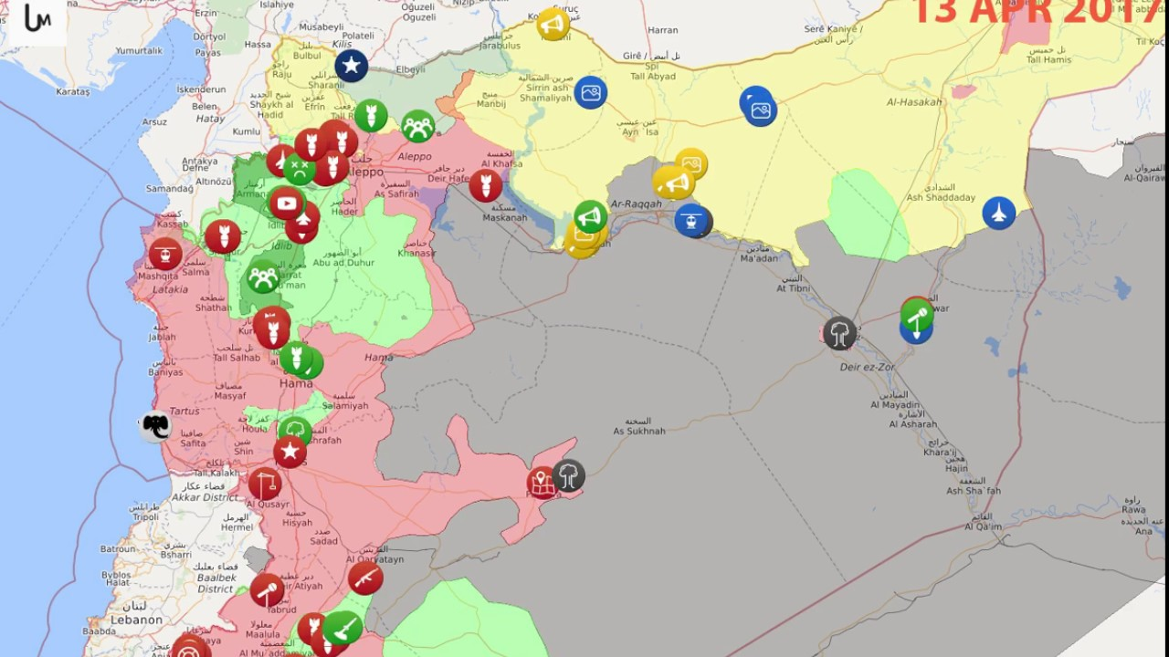 animation map of situation in syria since  november  to   - animation map of situation in syria since  november  to  november of live map
