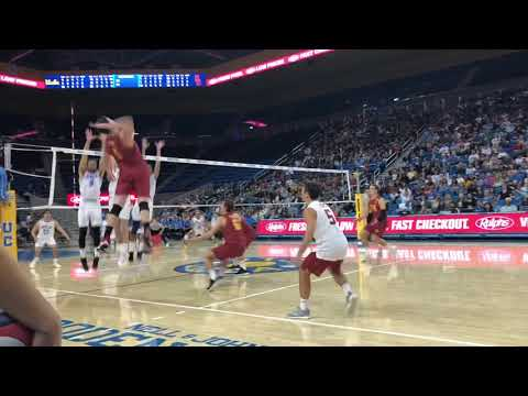 USC vs UCLA MVB Highlights (2/24/19)