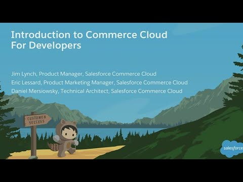 Introduction To Commerce Cloud For Developers