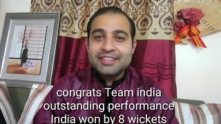 Pakistani boy reaction - Ind vs WI - 1st ODI - Oct 21, 2018 - India won by 8 wickets -Congrats India