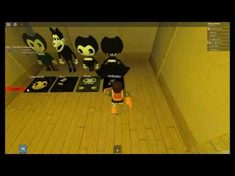 Bendy and the ink machine roblox music