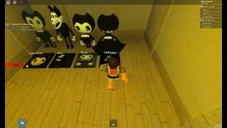 Bendy And The Ink Machine | roblox | 3/24/17