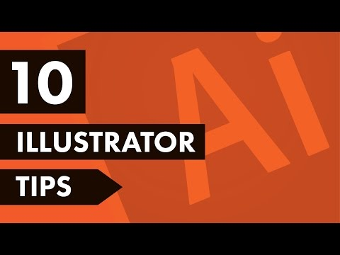 Top 10 Adobe Illustrator Tricks 2017 ✍
