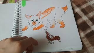 Рисунки котов воителей #3
