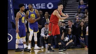 Jeremy Lin Does HILARIOUS Flop, Draws Sneaky Charge On Kevin Durant