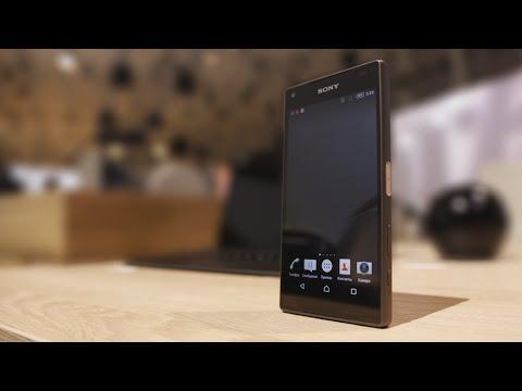 Первый обзор Sony Xperia Z5 Compact