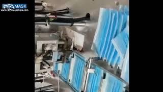 기계 마스크 생산 라인을 만드는 자동 부직포 3ply …