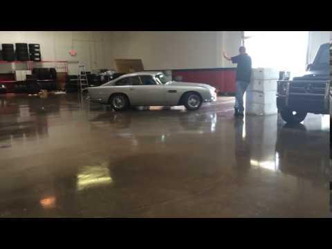 Aston Martin DB5 Leaves Dallas Storehouse!
