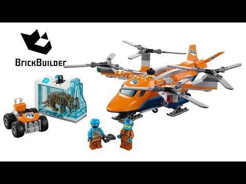 Lego City 60193 Arctic Air Transport - Lego Speed Build