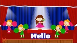 Hello Song - Orginal Hello Song Lyrics For Kids - Hello How Are You by Dada TV