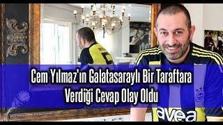 Cem Yılmaz'ın Galatasaraylı Bir Taraftara Verdiği Cevap Olay Oldu