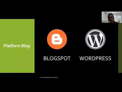 Cara Membuat Blog Untuk Pemula.