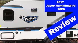 2017 Jayco Hummingbird 16FD Review