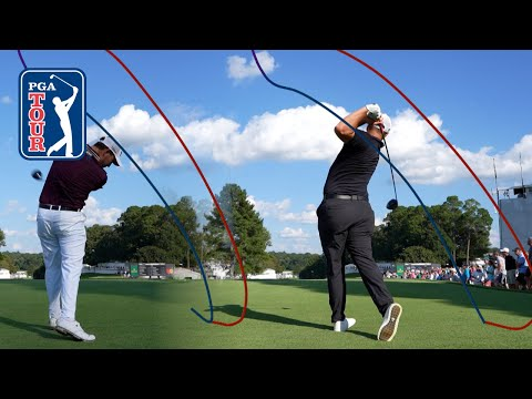 Swing tracers from every player at the TOUR Championship
