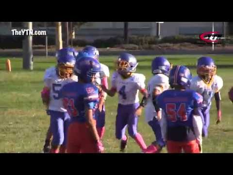 La Mirada Matadores vs Garden Grove  Pop Warner 10/1/17