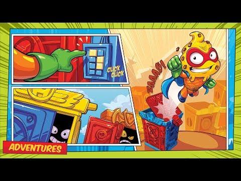 SuperZings Cartoons Compilation 3 ⚡ Episodes 1, 2, 3, 4, 5, 6, 7, 8, 9, 10 ⚡ Rivals Of Kaboom