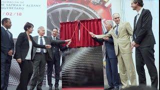 Mexique : inauguration de la 3e usine pour les aubes en composites du LEAP