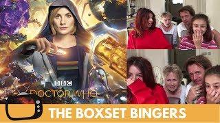 Epic, Intergalactic & Explosive New Doctor Who Trailer - Nadia Sawalha & Family Reaction