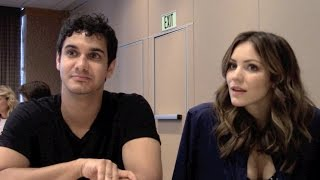 Scorpion Elyes Gabel and Katharine McPhee Interview Season 2