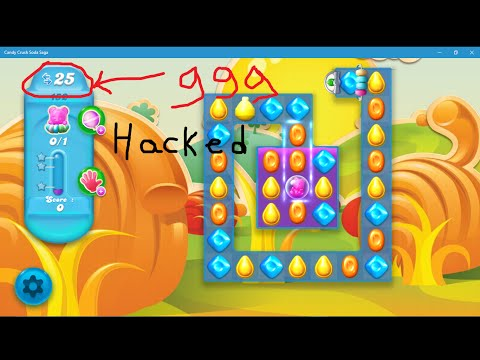 Candy Crush Soda Saga HACKE on Windows 10/ 8.1 / 8 with easy steps !!