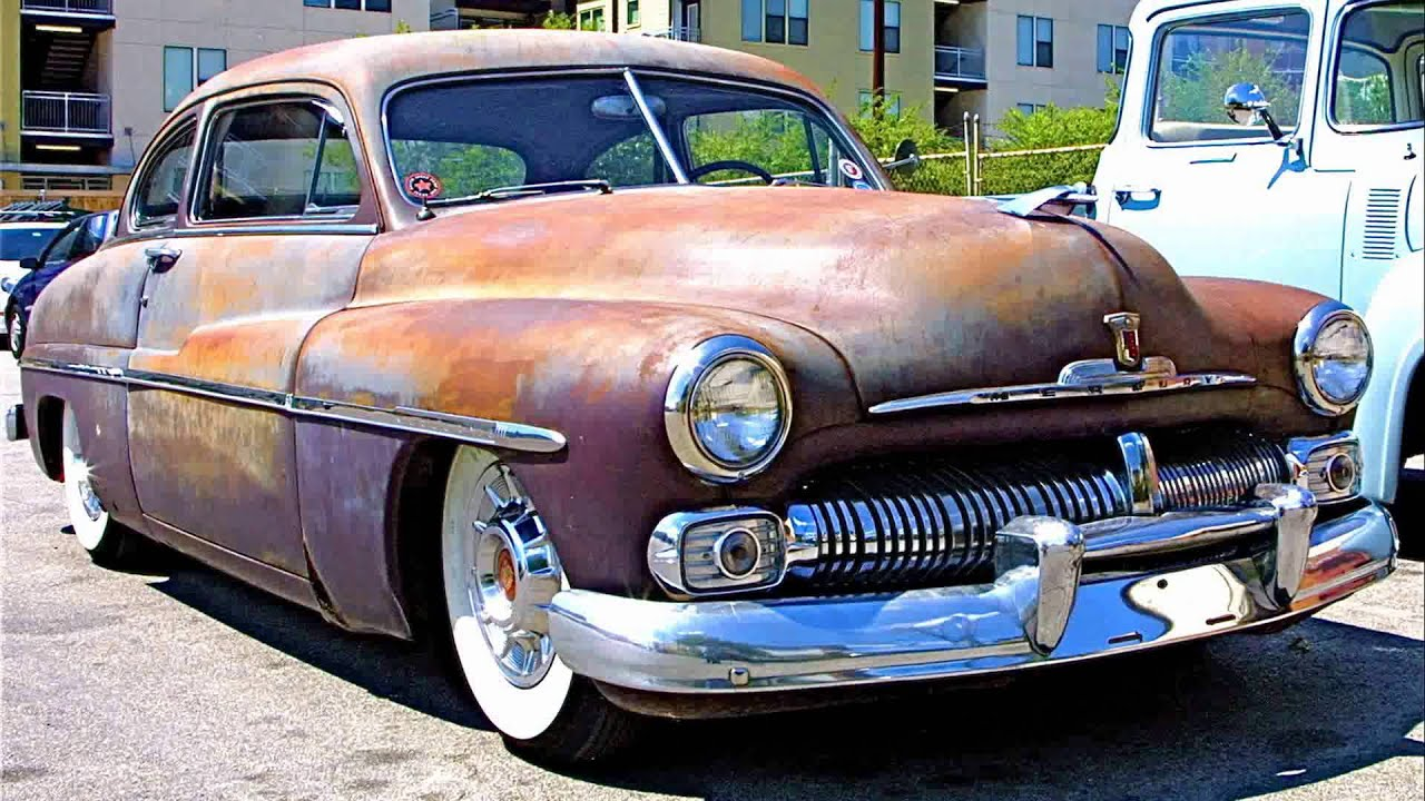 1950 mercury custom - YouTube