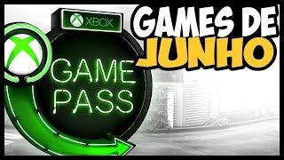 NOVOS JOGOS do XBOX GAME PASS em JUNHO!