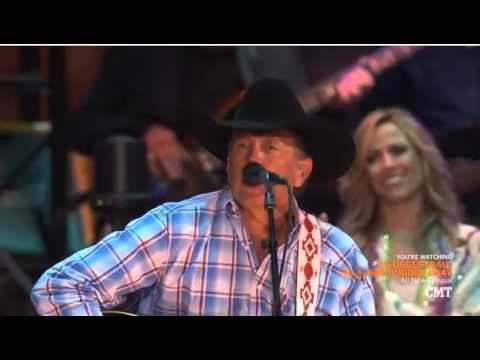 George Srait The Cowboy Rides Away Live from ATT Stadium   YouTube  2