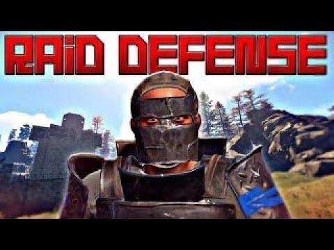 70 Rocket Profit Raid Defense Vs. AGA Vanilla RUST #RustafieldEUOdd