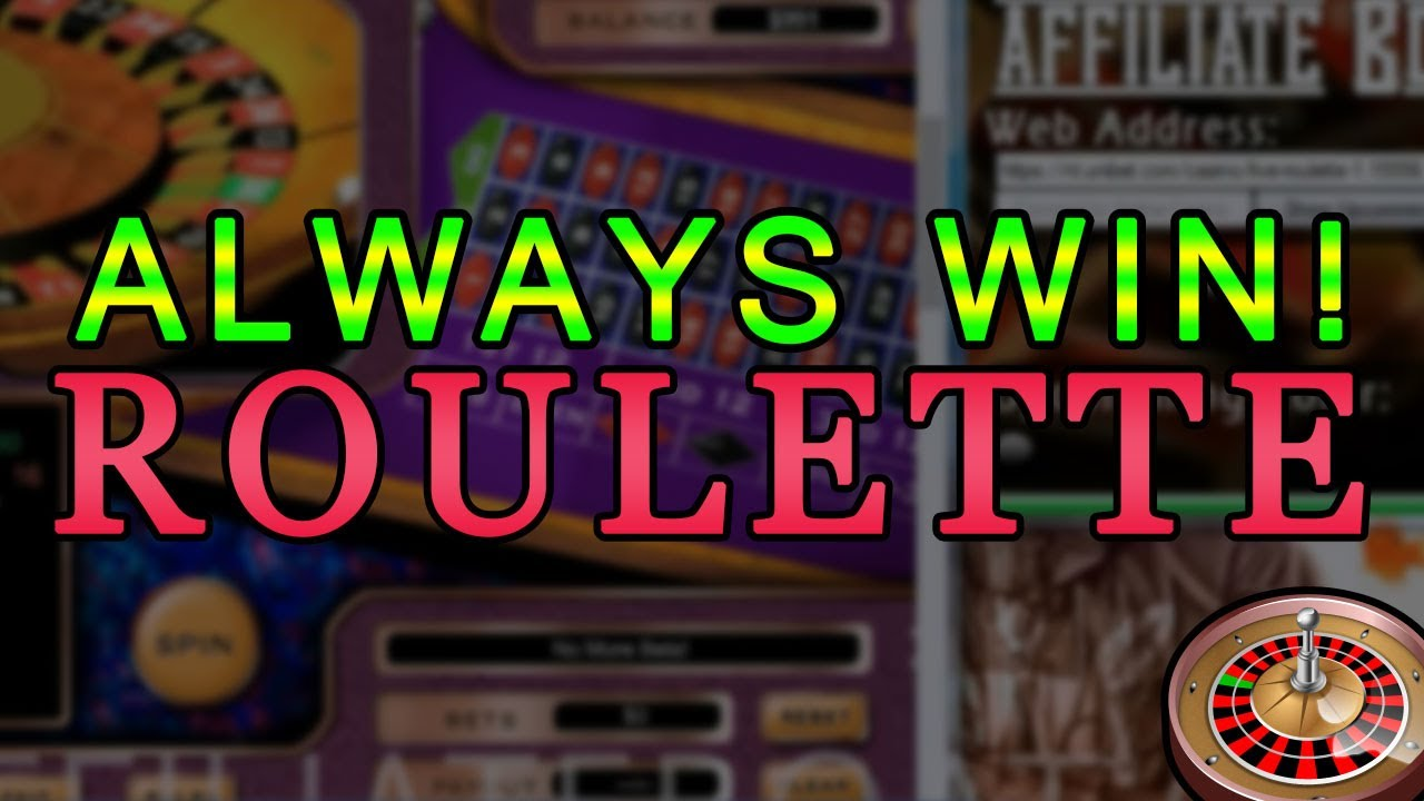 UPDATED: [NEW] How to Play and How to Win At Roulette ...