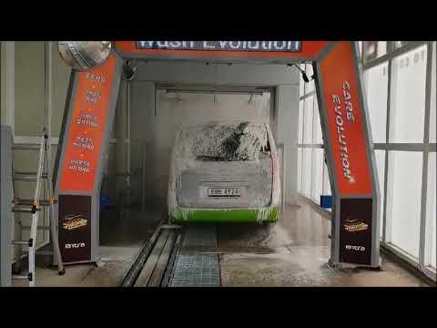엔트라 터널식 비접촉_용인 T2 세차장 설치