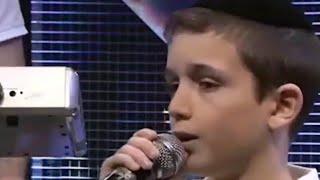 Wonder Boy Motty Grinbom Singing Abba