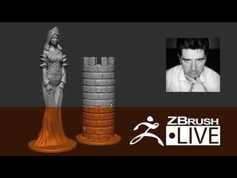 [FR] Sculpture Aléatoire #2 - Pièces d'échec - partie 1 - Thomas Roussel