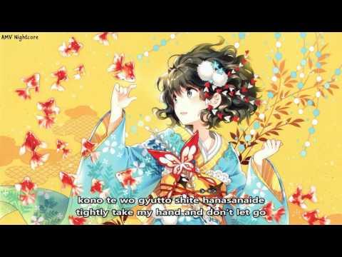 [Nightcore] By Your Side | WISE feat. Kana Nishino | Nagi no Asukara OST
